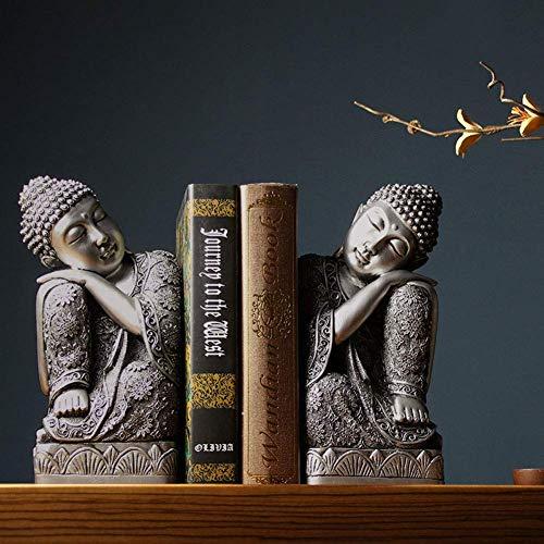 Buchstützen Buddha Buchstützen Studie Home Dekoration Dekoration Wohnzimmer Büro Desktop Storage