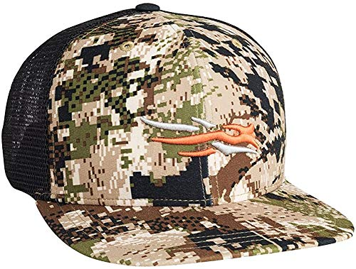 SITKA Gear Men's Trucker Breathable Mesh Hunting Cap, Optifade Subalpine, OSFA, One Size