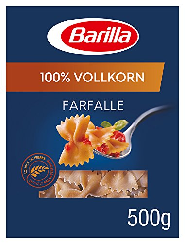 Barilla Vollkorn Pasta Farfalle Integrale - 5er Pack (5x500g)
