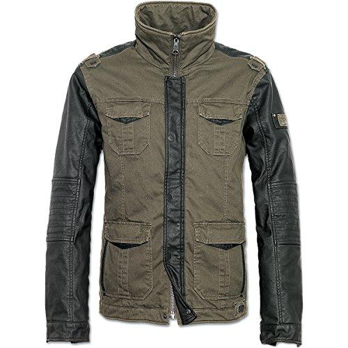 Brandit Ray Vintage Jacket Chaqueta aceituna/negro XL