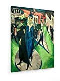 Ernst Ludwig Kirchner - Potsdamer Platz - 60x80 cm -