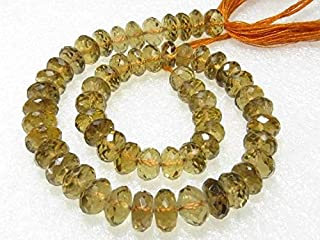 Jewel Beads Natural Beautiful jewellery Beer Quartz - Micro cut faceted Round Ball Beads - Size 6-8 mm - 10 Inches Long StrandCode:- JBB-36510