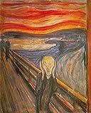 1art1 Edvard Munch - Der Schrei, 1893 Poster Kunstdruck 50