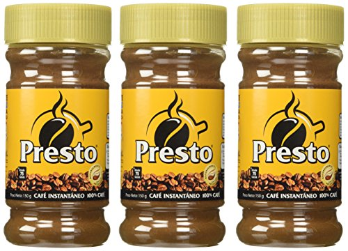 Cafe Presto Instant Coffee from Nicaragua - (150 gr) 4 Pack