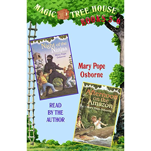Magic Tree House: Books 5 and 6 audiobook cover art