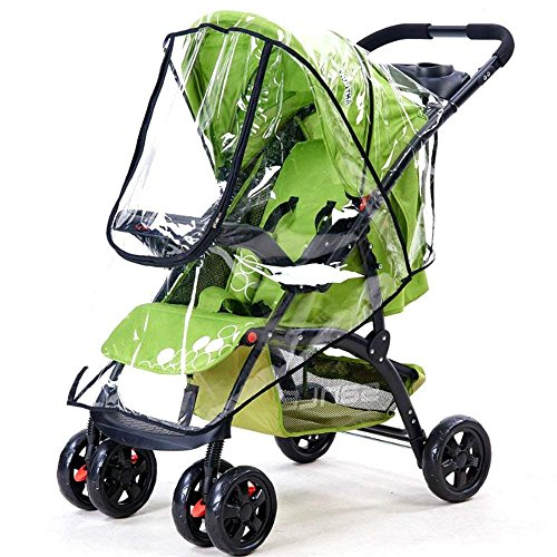 3.69 AllRight Universal Baby Pushchair Stroller Buggy Rain Cover Transparant Wind Dust Cover