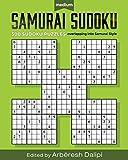 Samurai Sudoku Puzzle Book: 500 Medium Puzzles overlapping into 100 Samurai Styl