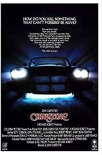 Christine POSTER Movie (27 x 40 Inches - 69cm x 102cm) (1983) (Style B)