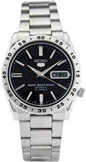 SEIKO Men's Automatic Watch, Analog Display and Stainless Steel Strap SNKE01J1