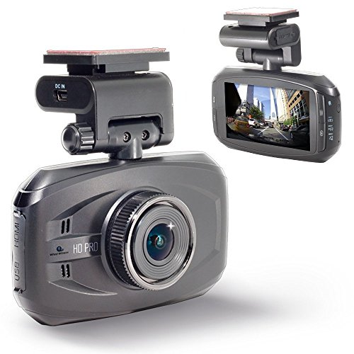 WheelWitness HD PRO Dash Cam with GPS - 2K Super HD - 170° Lens - 16GB microSD - Advanced Driver...
