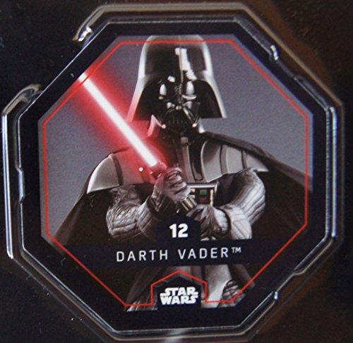 Rewe STAR WARS Cosmic Shells Auswahl aus allen 36 auch mit Glitzer oder Sammelalbum oder Filmbox (12 Darth Vader)