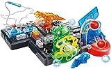 Wghz 4 in 1 blocchi di costruzione elettronici FAI-da-te, 120 Kit di esperimenti di circuiti combinati, giocattolo scientifico Stem con Circa 125 Tipi di connessioni di Circuito, certificazione U