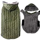 JoyDaog Sudadera de forro polar para perros grandes, súper cálida, chaqueta d...