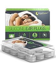 Tapones oidos dormir SleepDreamz® (6 pares) - Tapones oidos ruido, diseñados para proteger contra de los ronquidos y otros sonidos fuertes, para que pueda dormir mejor!