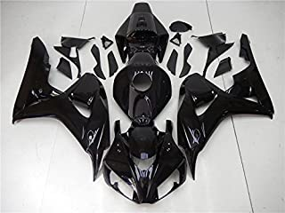 Glossy Black Complete Injection Fairing ABS Bodywork Fit for Honda CBR1000RR 2006 2007
