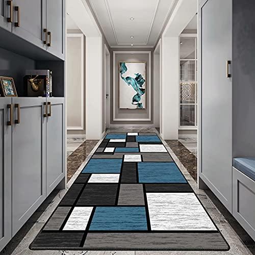 Carpet passatoia 120x160cm, Tappeto Cucina passatoia, Attraente Lavabile Robusto Pastello, Usato in Soggiorno Salotto Moderno.