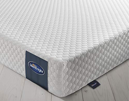 Silentnight 7 Zone Memory Foam Rolled Mattress | Made in the UK | |Medium Firm |Euro King