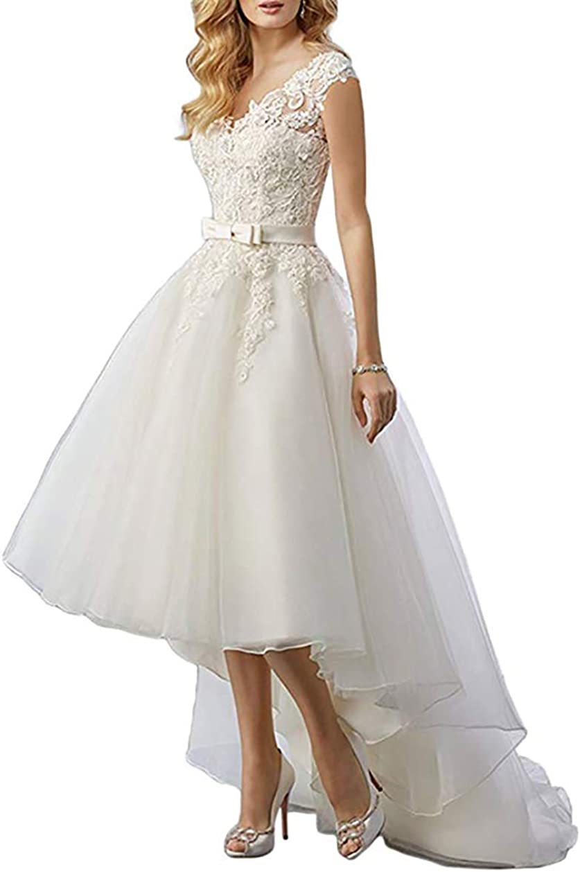 Macria Women's Excellence Lace Country Wedding Dresses B for Low Recommendation High Bride