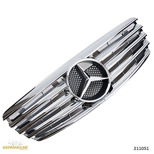 GermanCarParts GCP-211051 Grill 02-06 Chrom