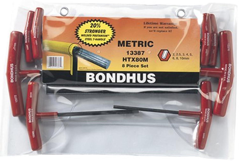 Bondhus 13387 von 8 Hex T, Größen 2–10 mm B000E7XJKW   Neuankömmling