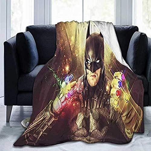HSBZLH My Hummy Couverture Couvertures Flanelle Accueil Batman Doux Mignon avec Couvertures Douces Thanos Gauntlpour Enfants Small 50X40 in for Kid