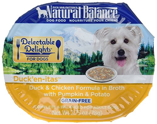 Natural Balance Delectable Delights Wet Dog Food Duck'En-Itas