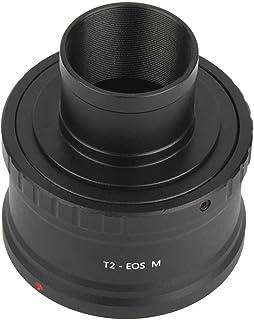 Diyeeni Adaptador de Lente de Montaje EOS-M T2, Adaptador de telescopio M42 a 1.25 Pulgadas, Adaptador de Anillo en T para...