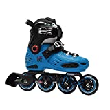KRF The New Urban Concept FreeSkate First Patines en Línea Freestyle Ajustables, Azul, 36-39