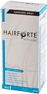 Hairforte anti-caida hereditaria cabello. Bloqueador DHT,