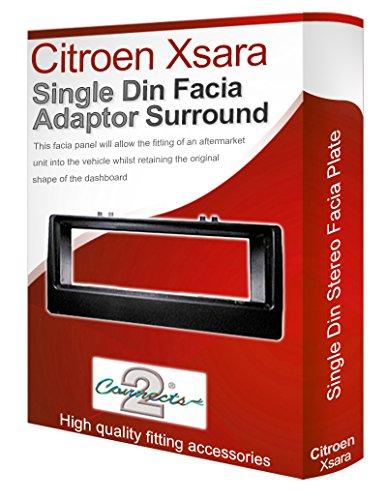 Citroen Xsara Adattatore mascherina autoradio/Stereo con Radio Cd con pannello