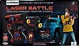 D'Arpèje D'ARPEJE - Laser Battle Bleu/Rouge - Kit Laser Game 2 Joueurs Pistolets Lasers + plastrons - Infrarouge sans Fil, Compatible Piles Rechargeables.