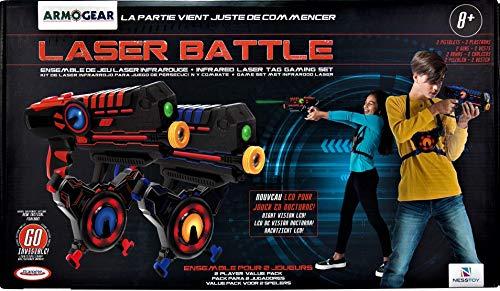 DArpèje DARPEJE - Laser Battle Bleu/Rouge - Kit Laser Game 2