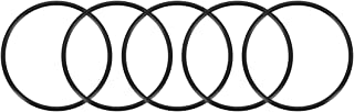 uxcell O-Rings Nitrile Rubber, 105.2mm Inner Diameter, 110mm OD, 2.4mm Width, Round Seal Gasket Pack of 5