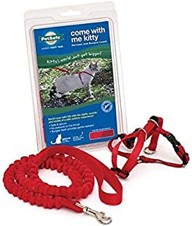 Premier Pet Come with me Kitty Harness Medium, Red/Cranberry