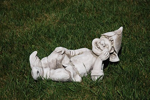 Unbekannt Gartenfigur Troll liegend - Garten, Figur, Troll
