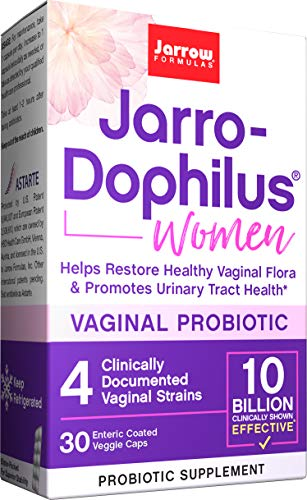Jarro-Dophilus Women, 10 Billion Cells Per Capsule, 30 Capsules (Cool Ship, Pack of 3) (JDW10-3)