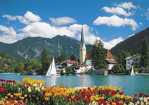Clementoni - Puzzle de 6000 Piezas Lago Tegernsee, Alemania (36518.0)