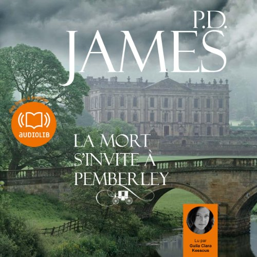 La mort s'invite à Pemberley audiobook cover art