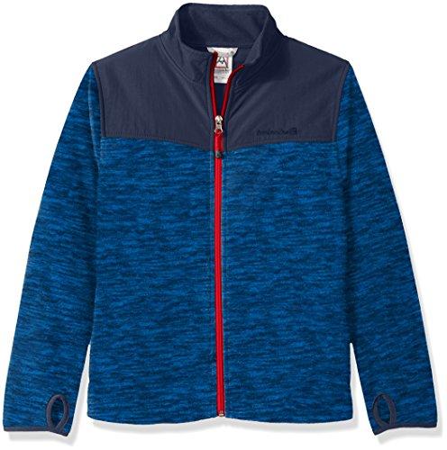 Avalanche Boys' Big Zip Front Jacket, Direct Blue, 14/16
