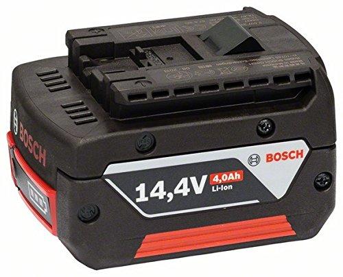 Bosch 2607336814 Batterie coulissante 14.4V-4Ah Heavy Duty, Noir/Rouge