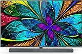 TCL 65X10 Fernseher 65 Zoll (164 cm) Smart TV mit integrierter Onkyo Soundbar (QLED, 4K Mini LED, UHD, Android TV, Micro Dimming, 100 Hz Display), Schwarz Metallic