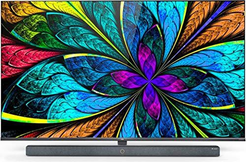TV LED 65' - TCL 65X10, UHD, Dolby Atmos, Quad Core, WiFi, HDMI, USB, Android TV, Asistente de Google, Negro