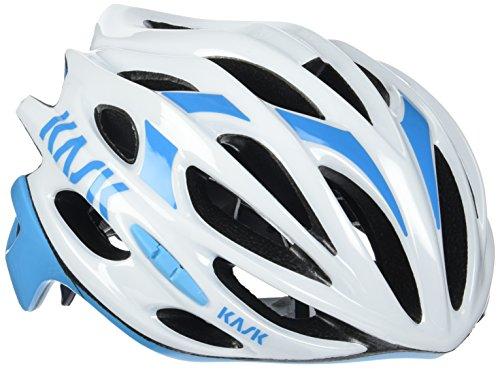 Kask Mojito 16 -Casco de bicicleta, MOJITO 16, White/Azzuro