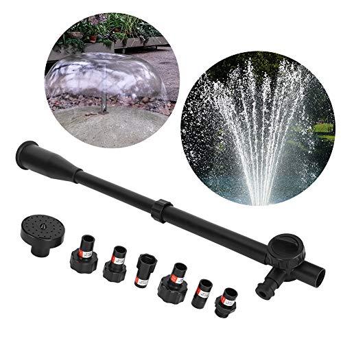 Set ugelli pompa fontana Tubi di prolunga Testine di spruzzatura Ricambi per pompe sommergibili per pompa acqua WP-3550, WP-7000, WP-8000, WP-4000, WP-5000, WP-6800
