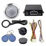 EASYGUARD EC008-P3 RFID car Alarm Push Start Button & keyless go System DC12V Cars