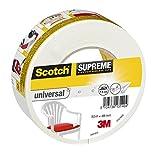 Scotch 4101W50 - Cinta americana para uso general, color blanco, tamaño: 50 m x 48 mm, 1 unidad