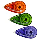 PLUS Japan, Korrekturroller Mini, 3er Packung, Farbenmix, 6m x 4.2mm