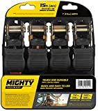 Best Ratchet Straps - Vivo Technologies Mighty Toolware 4pc Ratchet Tie Down Review