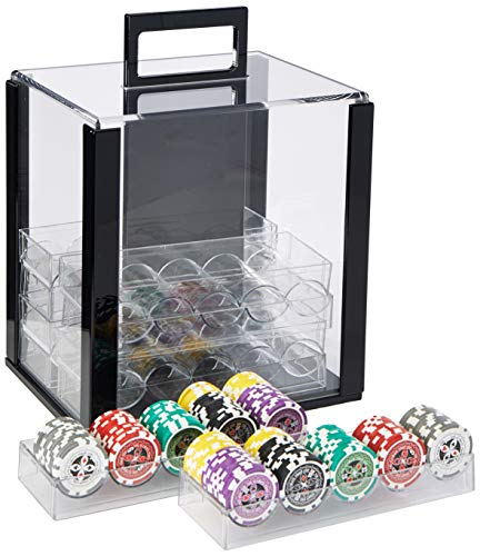 1000 acrylic poker case - 8