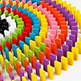 e-smile 知育 ドミノ 木製 12色 120個 知育玩具 ドミノ倒し カラードミノ